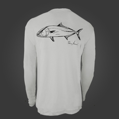 Camiseta de poliamida ballyhoo Catch and Release Olho de Boi