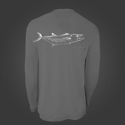 Camiseta de Poliamida ballyhoo Catch and Release Sororoca