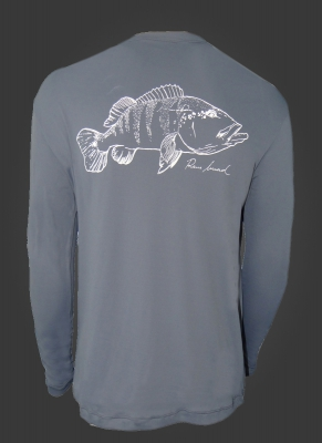 Camiseta de Polimida Catch and Release Tucunaré