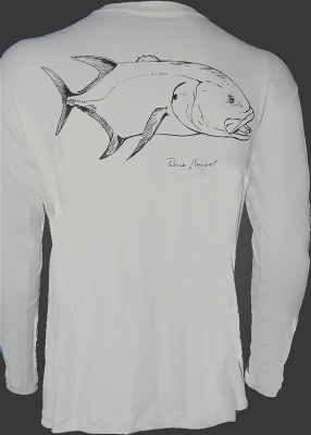 Camiseta de Poliamida Catch and Release Xaréu