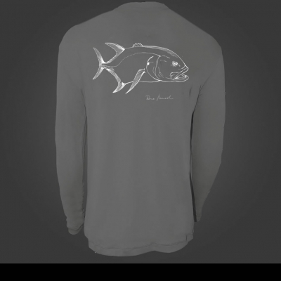 Camiseta de Poliamida ballyhoo Catch and Release Xaréu