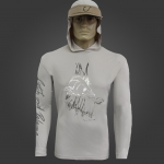 Camiseta de Polimida COM CAPUZ Catch and Release ROBALO 2