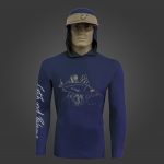 Camiseta de Polimida COM CAPUZ Catch and Release ROBALO